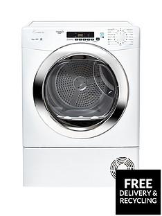 candy-grand-o-vitanbspgvsc10dcg-10kgnbspcondenser-tumble-dryer-with-smart-touch-whitechrome