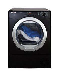 candy-grandonbspvitanbspgvsc10dcgb-10kgnbspload-condenser-tumble-dryer-with-smart-touch-blackchrome