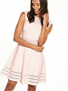 ted-baker-aurbray-knitted-skater-dress