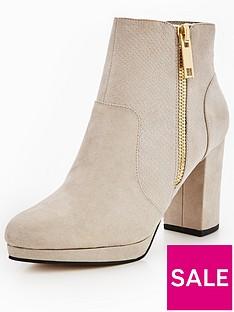 miss-selfridge-miss-selfridge-grey-zip-platform-ankle-boot