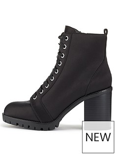 miss-selfridge-miss-selfridge-black-lace-satin-ankle-boot