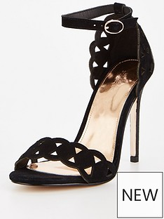 michelle-keegan-michelle-keegan-laser-cut-heeled-sandal-black