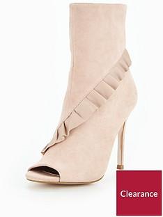 michelle-keegan-leather-ruffle-peep-toe-shoe-boot-blush