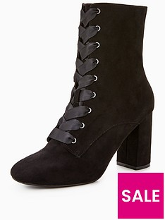 v-by-very-piper-block-heel-satin-lace-up-ankle-boot-black