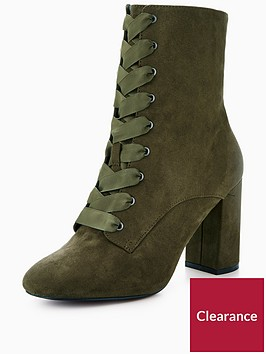 v-by-very-piper-block-heel-satin-lace-up-ankle-boot-khaki