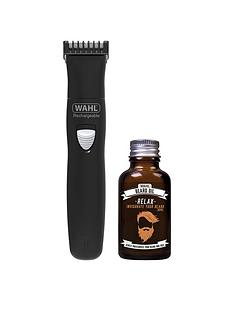 Wahl Wahl Rechargeable Trimmer & Beard Oil Gift Set