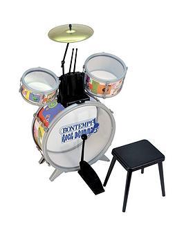 bontempi-drum-set-4pcs-with-stool