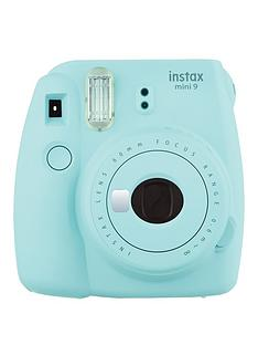 fujifilm-instax-mini-9-ice-blue-instant-camera-with-optional-shots