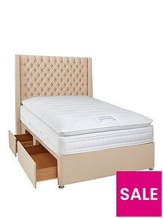 luxe-collection-from-airsprung-hepburn-1000-pillowtop-divan-bed-with-storage-options-includes-headboard