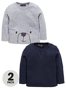 mini-v-by-very-baby-boys-2-pack-bear-tops
