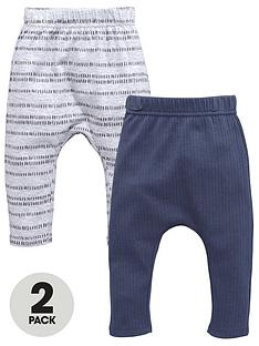 mini-v-by-very-baby-boys-2-pack-ribbed-amp-stripe-joggers
