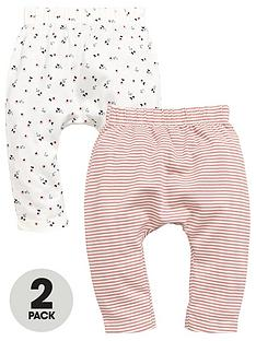 mini-v-by-very-mini-v-by-very-baby-girls-2-pack-floral-amp-sparkle-ribbed-leggings