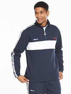 ellesse-turati-half-zip-taped-mensnbsptrack-jacket