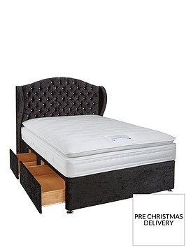 luxe-collection-from-airsprung-bette-1000-pocket-spring-pillowtop-divan-with-mattress-options-includes-headboard