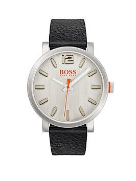 hugo-boss-hugo-boss-orange-bilbao-silver-dial-black-leather-strap-mens-watch
