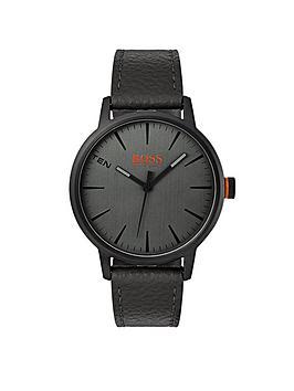 hugo-hugo-boss-orange-copenhagen-grey-dial-black-strap-mens-watch