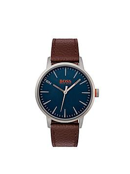 hugo-boss-hugo-boss-orange-copenhagen-blue-dial-brown-strap-mens-watch