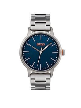 hugo-boss-orange-copenhagen-blue-dial-stainless-steel-bracelet-mensnbspwatch