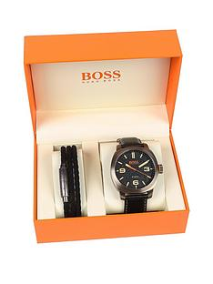 hugo-boss-orange-capetown-black-dial-black-strap-mens-gift-set