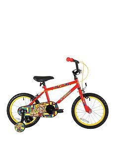 Sonic Tyke Boys Play Bike 16 inch Wheel