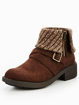Rocket Dog Toby Cuff Ankle Boot