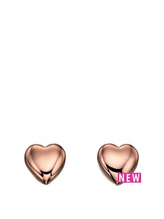 fiorelli-jewellery-costume-rose-gold-heart-stud-earrings