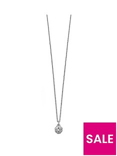 fiorelli-jewellery-imitation-rhodium-swarovski-single-flower-necklace