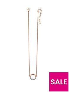 fiorelli-jewellery-costume-rose-gold-plated-and-swarovski-ring-drop-necklace-41-46cm