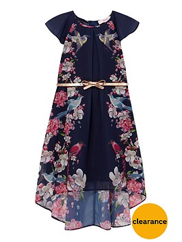 baker-by-ted-baker-girls-floral-high-low-belted-dress