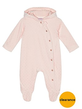 baker-by-ted-baker-baby-girls-spotted-velour-snugglesuit