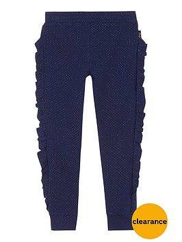 baker-by-ted-baker-girls039-navy-frill-trim-trousers