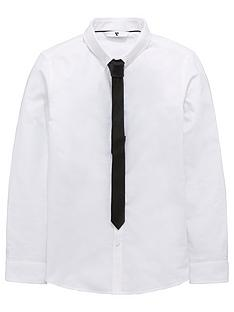 v-by-very-oxford-shirt-with-black-spot-skinny-tie