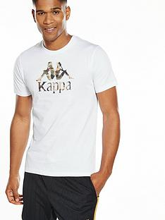 kappa-plainmore-camo-logo-t-shirt