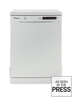 Candy CDP1DS39W 13-Place Dishwasher with Smart Touch - White