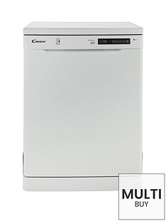 candy-cdp1ds39w-13-place-dishwasher-with-smart-touch-white