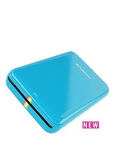 polaroid-zip-instant-printer-with-zink-zero-ink-printing-technology-50-pack-2-x-3-inch-premium-zink-papernbsp--blue
