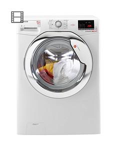 Hoover Dynamic NextWDXOA686C 8kgWash,6kgDry, 1600 Spin Washer Dryer - White/Chrome