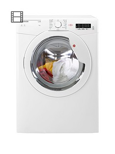 Hoover Link HLV9LG 9kg Load, Vented Sensor Tumble Dryer with One Touch - White