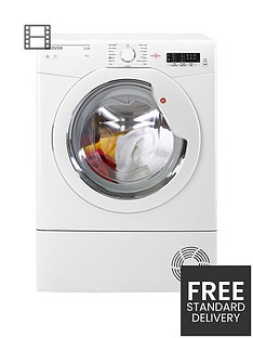 hoover-link-hlc8lg-8kgnbspload-condenser-sensor-tumble-dryer-with-one-touch-white