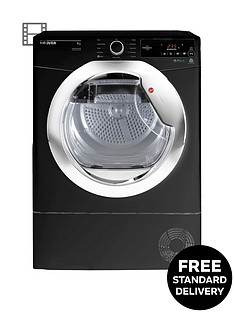 hoover-dynamic-next-dxc9tceb-9kg-load-aquavision-condenser-tumble-dryer-with-one-touch-blackchrome