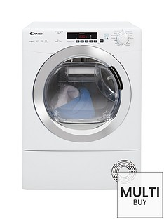 candy-grando-vitanbspgvsh9a2dce-9kgnbsploadnbspheatnbsppump-tumble-dryer-with-smart-touch-whitechrome
