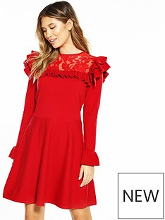 v-by-very-lace-yoke-ruffle-detail-dress