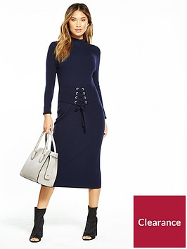 v-by-very-corset-belt-ribbed-midi-knit-dress