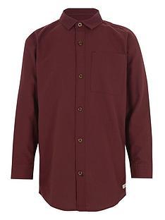 river-island-boys-long-sleeve-oxford-plum-shirt