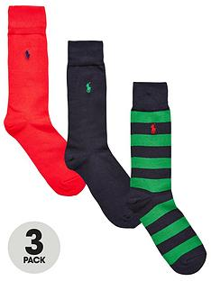 polo-ralph-lauren-3pk-plainstripe-sock