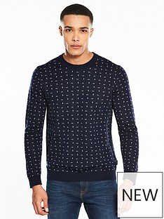 ted-baker-patterned-jumper