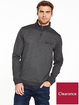 ted-baker-ls-half-zip-funnel-neck