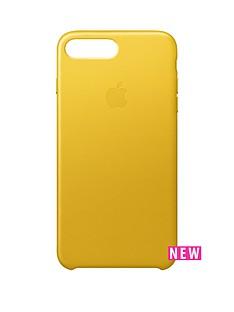 apple-iphone-7-plus-leather-case-sunflower