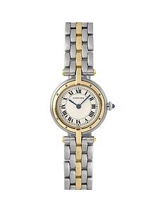 cartier-cartier-pre-owned-ladies-bimetal-vendome-panthere-1-row-watch-off-white-dial-ref-1057920