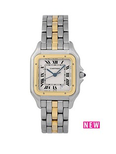 cartier-cartier-pre-owned-gents-bimetal-panthere-1-row-watch-off-white-dial-ref-187949